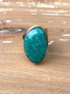 Arena Ring-Amazonite