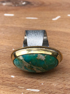 Arena Ring-American Turquoise
