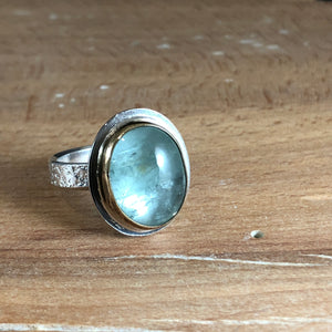 Arena Ring-Aquamarine