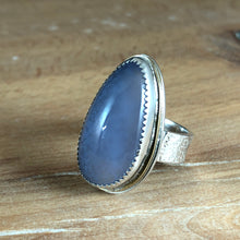 Arena Ring-Lavender Chalcedony