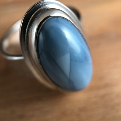 Arena Ring-Blue Opal