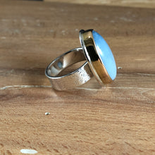 Aurum Ring-Blue Opal