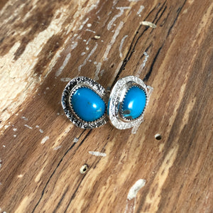 Mikra Studs-American Turquoise