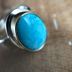 Aurum Ring-Persian Turquoise