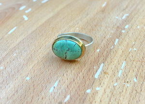 Arena Ring-Treasure Mountain Turquoise