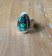 Arena Ring-Damele Turquoise