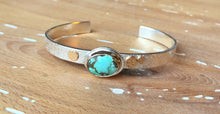 Strand Cuff-Treasure Mountain Turquoise
