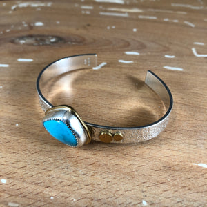 Strand Cuff-American Turquoise