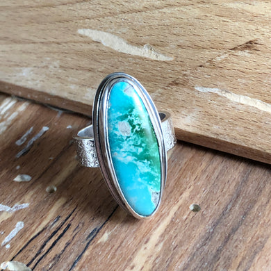 Arena Ring-Peacock Turquoise