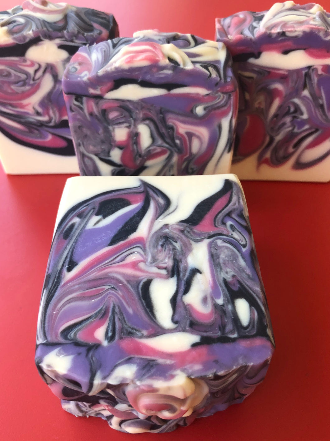 Black Raspberry Vanilla Handmade Soap by California Handmade Soaps