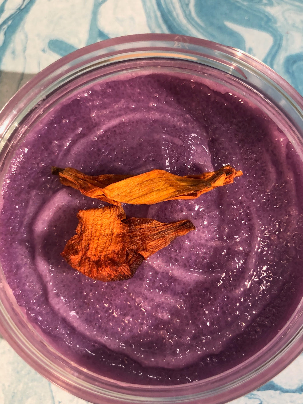 Purple Haze Organic Hemp Cane Sugar Scrub
