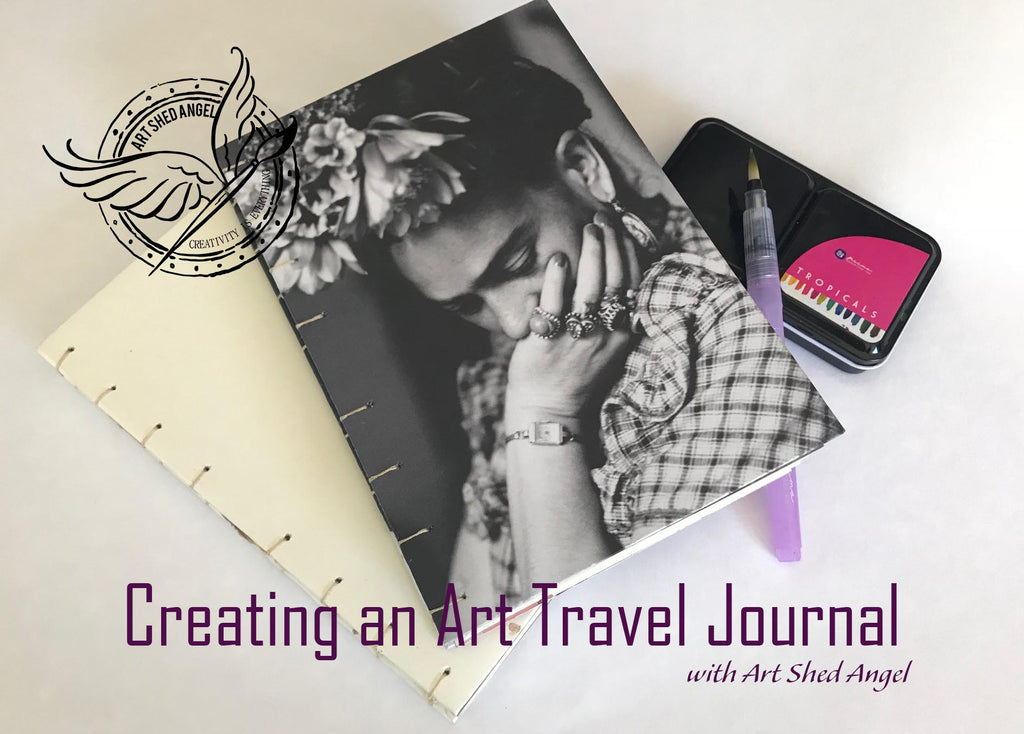 Making your own Art or Travel Journal with Lucy