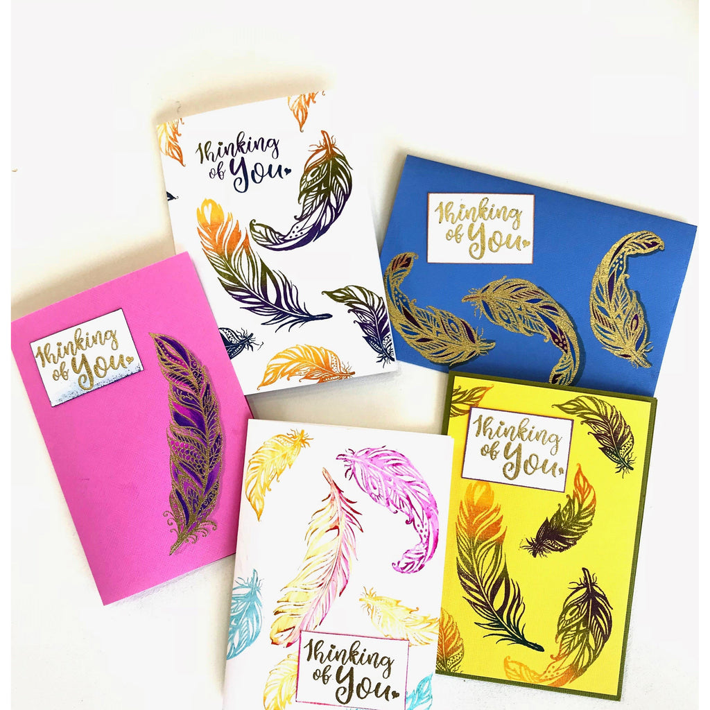 Feathers of Love Stamp set