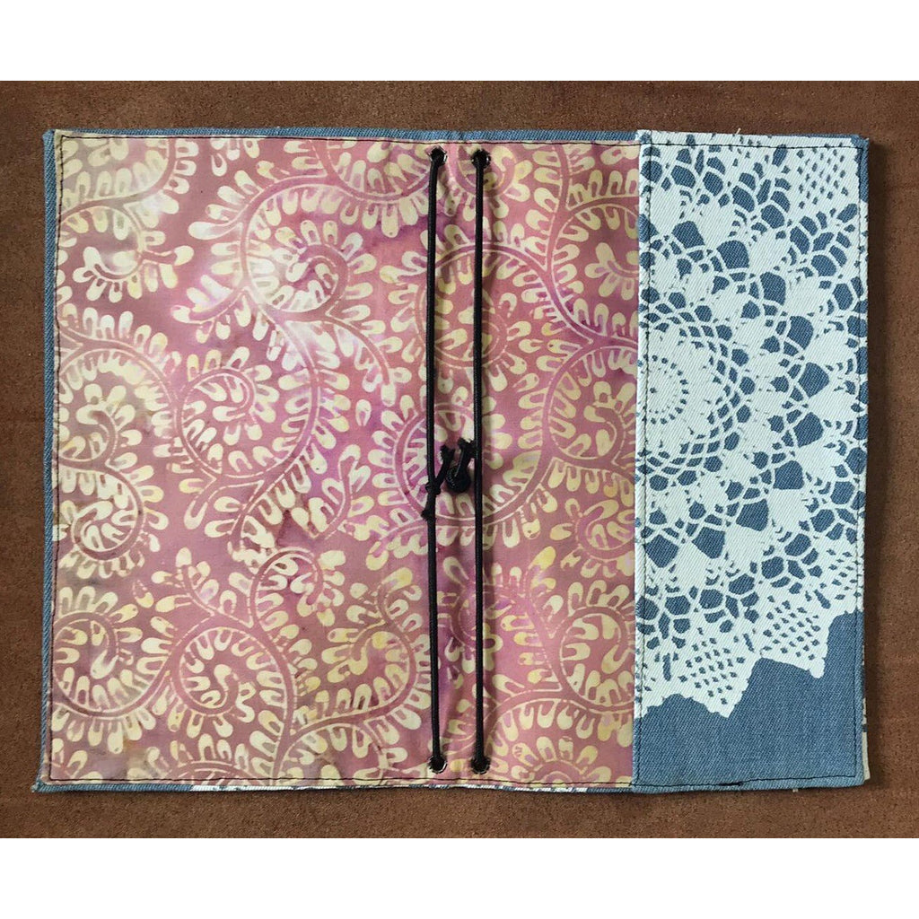 Mandala Note Book cover - Travelers notebook style.