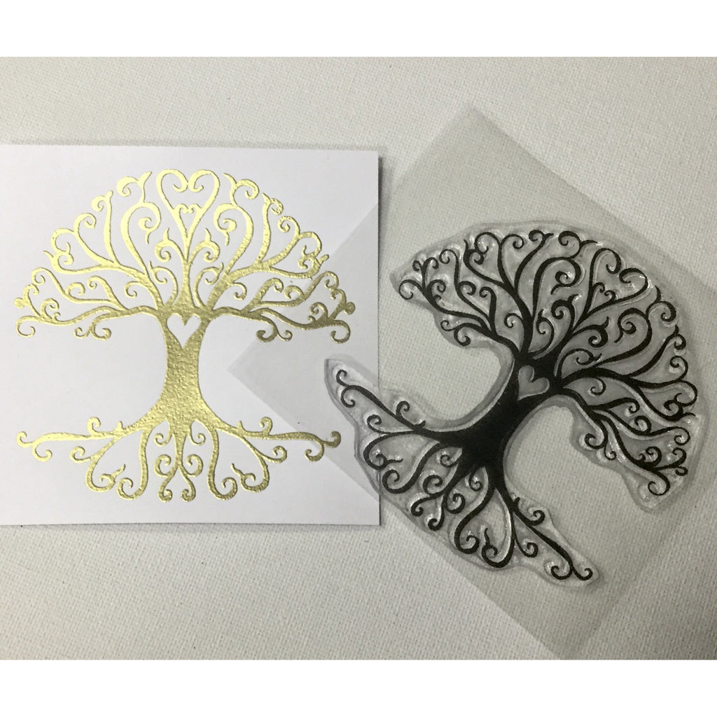 Tree of life stamp