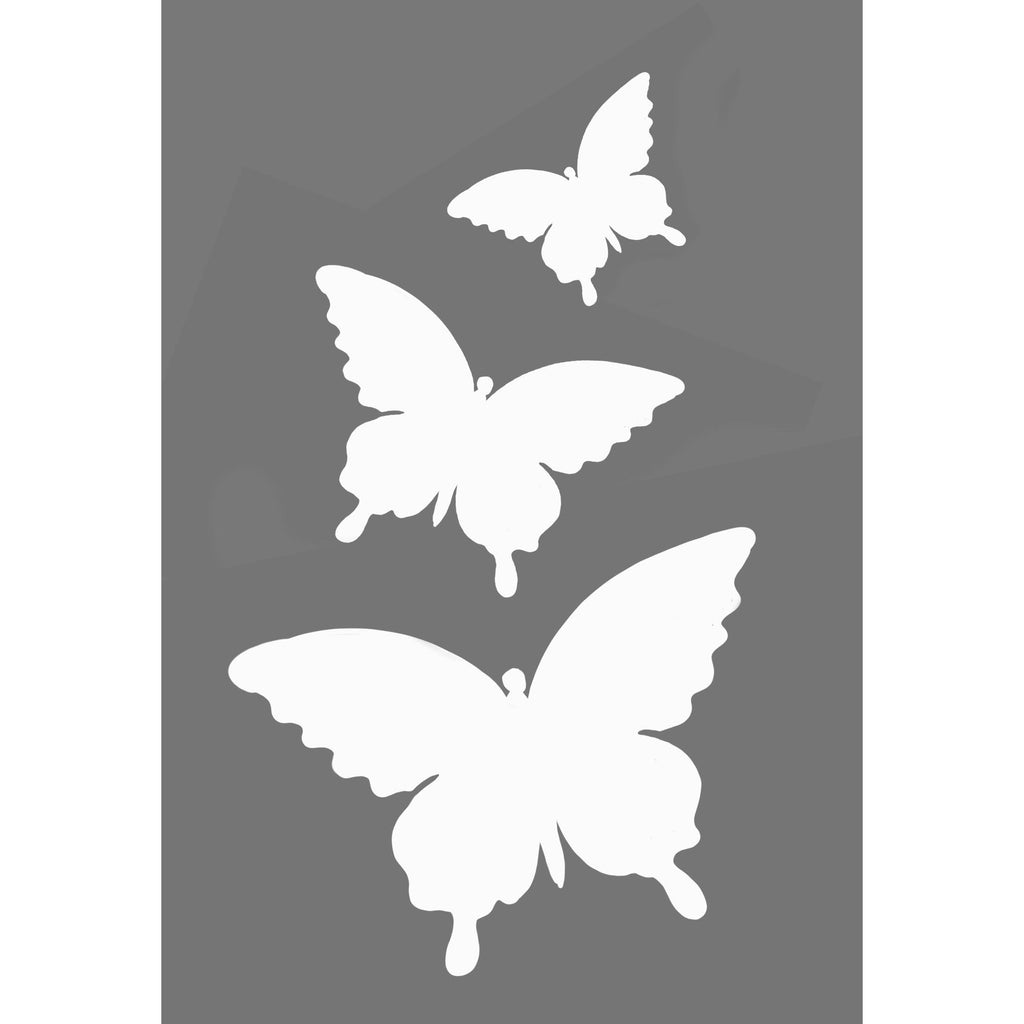 Butterfly Flexible stencil