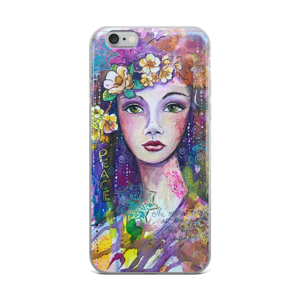 Peace Goddess Phone case - original design