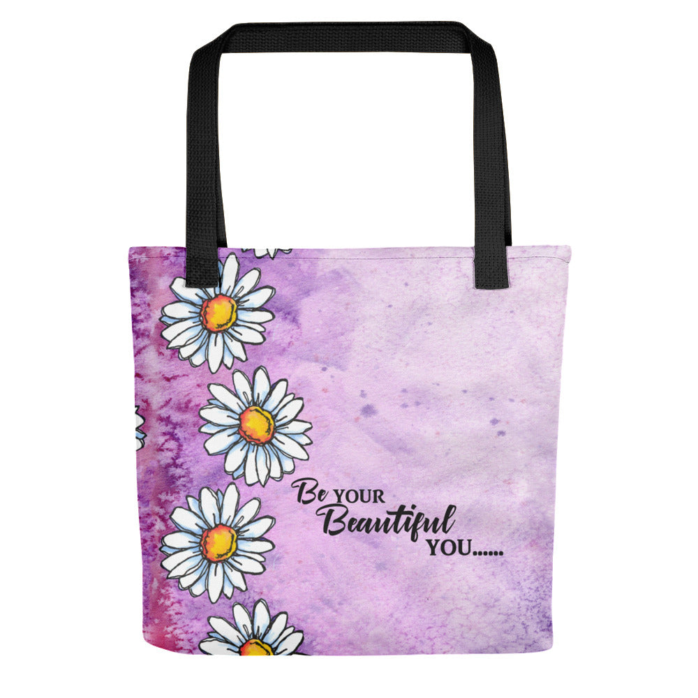 Be Your Beautiful You - Daisy Tote bag.