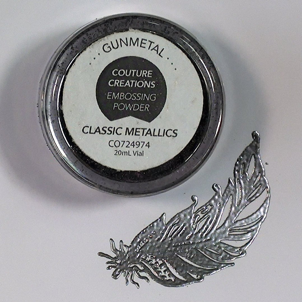 Gunmetal Detail Embossing Powder
