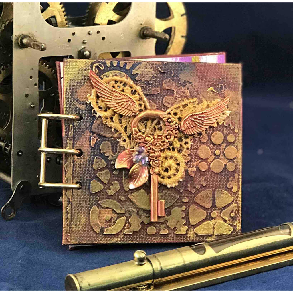Hand made Steampunk style book