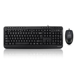 Adesso AKB-132CB-UK Antimicrobial Desktop Multimedia Keyboard & Mouse