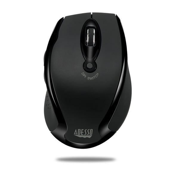 Adesso iMouse M20B Black Wireless Ergonomic Optical Mouse