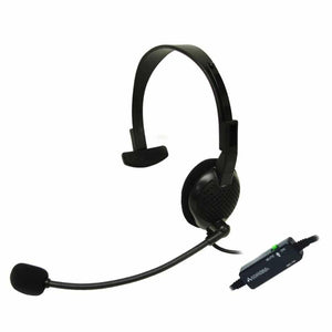 Andrea Communications ANC-700 Monaural Computer Headset with Active Noise Cancellation