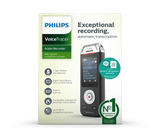 Philips VoiceTracer DVT2810 Digital Dictaphone
