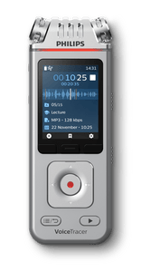 Philips VoiceTracer DVT4110 Digital Dictaphone