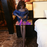 168cm flat chest black sex doll