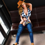 170cm American Cowgirl Big Breast Life Like Love Dolls
