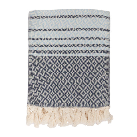 Textured Jacquard Throw Blanket
