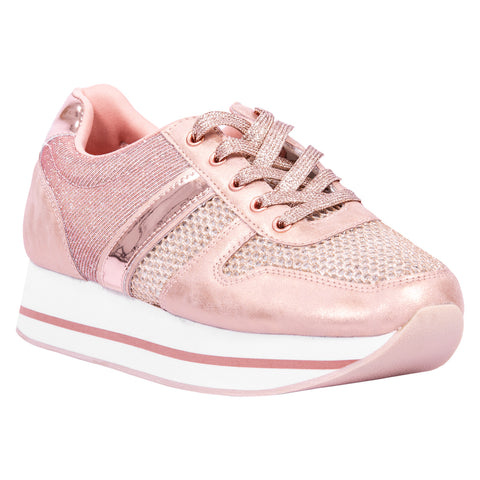 Saint & Summer Sporty Rose Gold Sneaker Echo