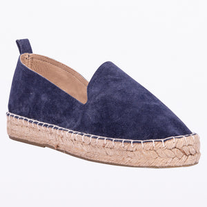 Saint & Summer Navy Espadrille Loafer Elude