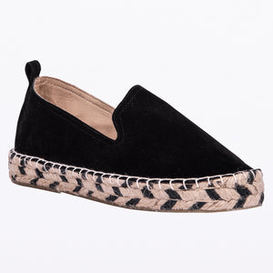 Saint & Summer Black Espadrille Loafer Elude