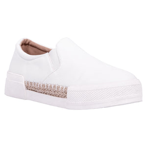 Saint & Summer White Slip-on Loafer Enigma