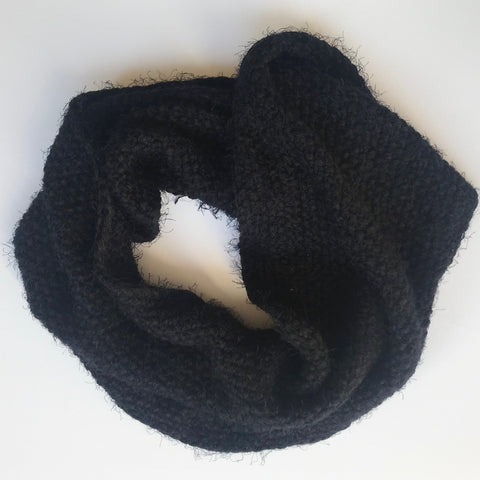 Super-soft Faux Mohair Snood