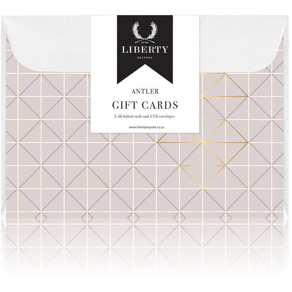 Liberty Bespoke Luxury Greeting Card (pack of 5)