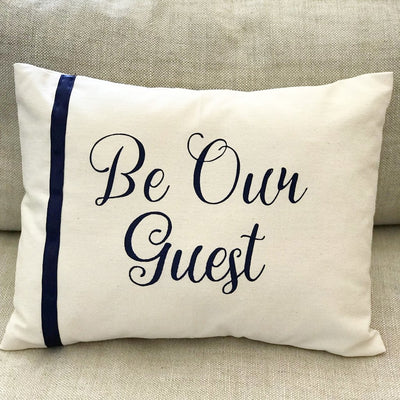 Be Our Guest Decorative Throw Pillow