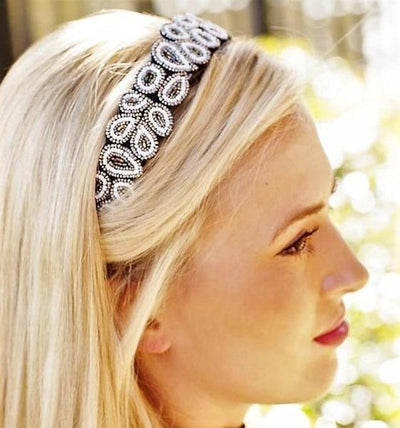 Into The Night Beaded Headband
