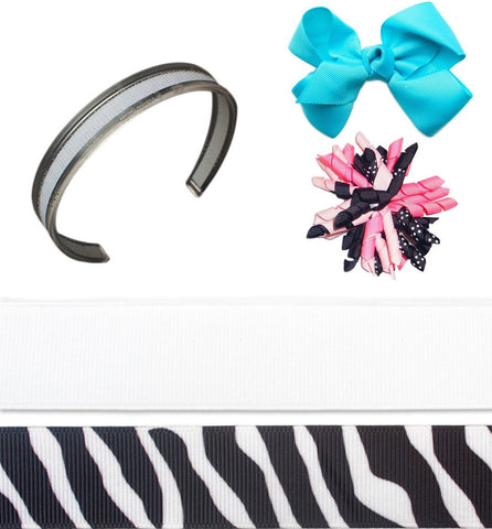 interchangeable headbands, headband sets, headband kit, infinity headband, Strike a Pose Bundle headband set