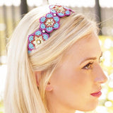 Flower Headband, interchangeable headband, infinity headband