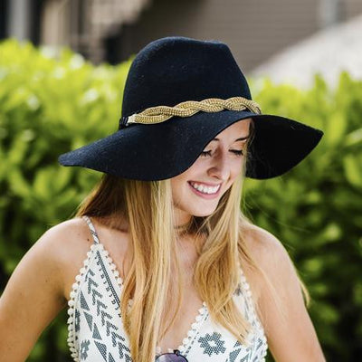 Brittany Gold Hat Band for sun hats