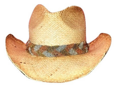 Anna Beaded Cowboy Hat Band