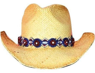 Avery Beaded Cowboy Hat Band