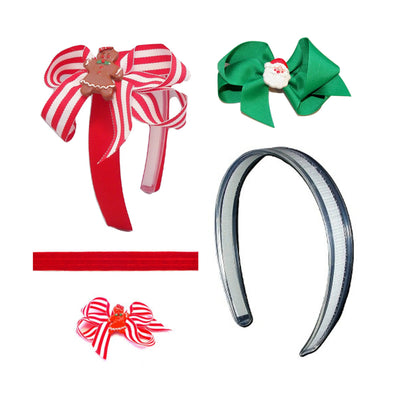 headbands for Christmas, Christmas headband for girls