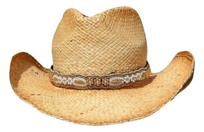Aubrey Beaded Cowboy Hat Band