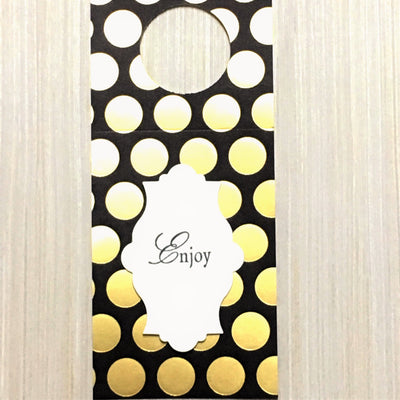Hand Made Gift Tags- HOSTESS set of 8 - Infinity Headbands by Ambrosia Designs