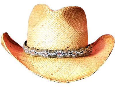 Shelby Beaded Cowboy Hat Band