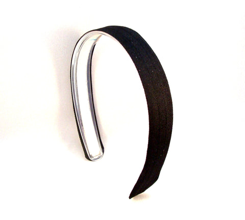 Black Headband, Infinity Headband, interchangeable headband
